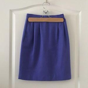 Vintage Purple Pencil Skirt